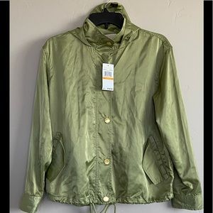 NEW Michael Kors Hooded Womens Lightweight Jacket